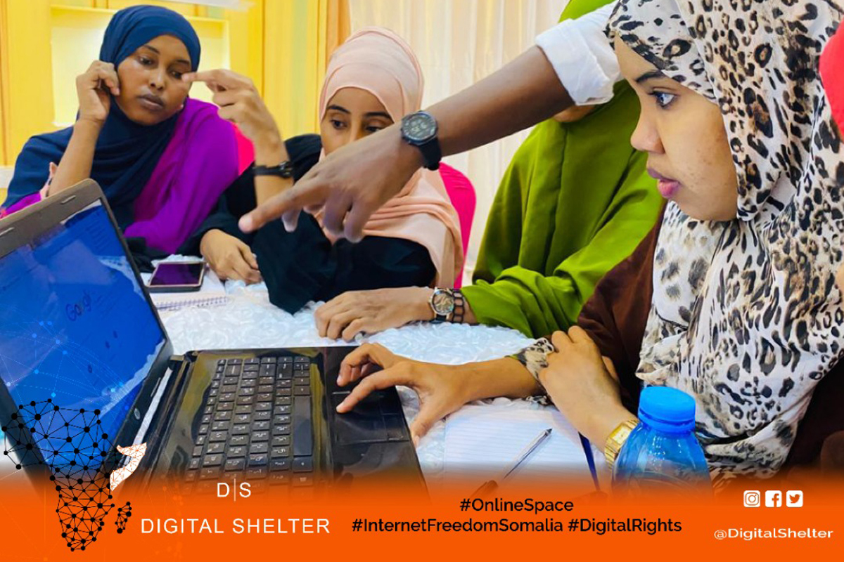 Female journalists trained on digital security skills